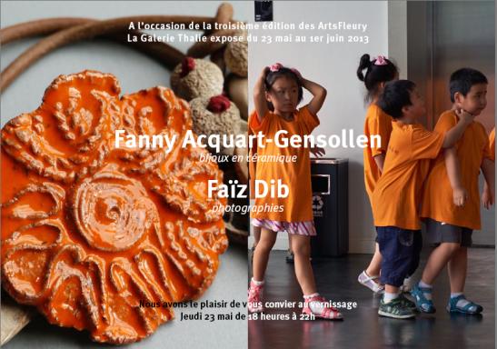 Exposition Fanny Galérie Thalie