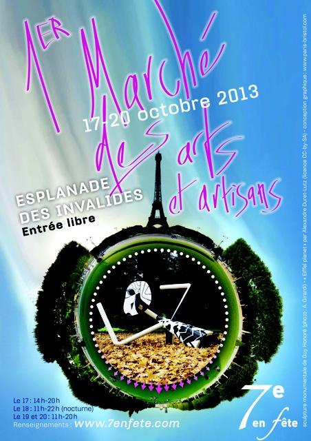 Marche arts et artisans 2013 - flyer