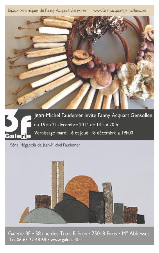 invite expo Galérie 3F