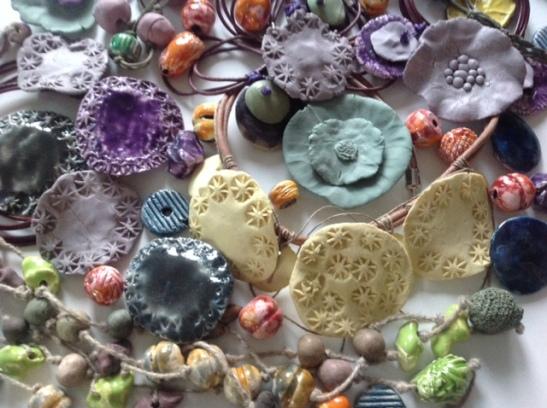 Bijoux céramique Fanny Aquart Gensollen