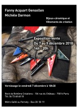Exposition Fanny Acquart Gensollen